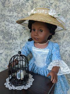Boy Doll, Girl Dolls, American Girl Dress, Brown Skin, Handmade Clothes, Georgian, Colonial, Doll Clothes, Captain Hat