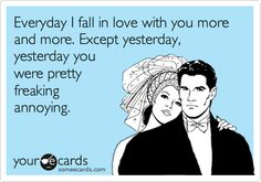Except for yesterday
