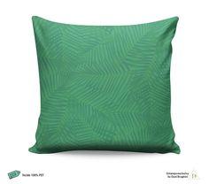 Almofada Verde Folhagens