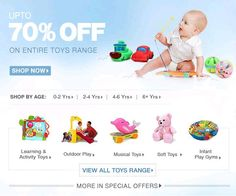 FirstCry Mother's Day Celebrations - Upto 70% OFF on Entire Toys Range - Couponscenter