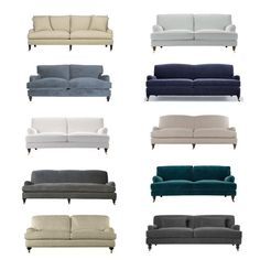 the perfect English roll arm sofa | The Estate of Things