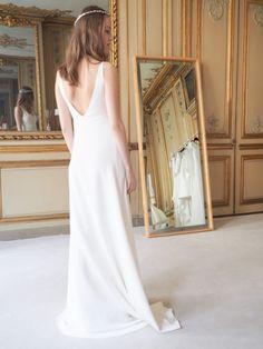 Wedding dress Delphine Manivet bridal designer Paris collection 2016 l La Fiancée du Panda blog Mariage et Lifestyle