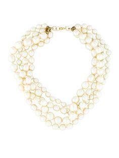 Chanel Baroque Pearl Necklace