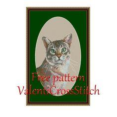 Cat Cross Stitch Free Cross Stitch Pattern