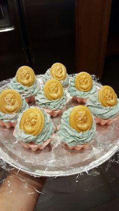 Cameo design cupcake soaps