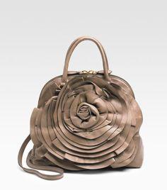 Valentino Fango Nappa Blossom Petale Handbag. I know it's 2008, but I LOVE it!