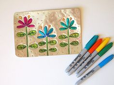 Make Super Fun Spring Tin Wall Art postcard