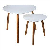 Table Set 2 Nesting Triangular