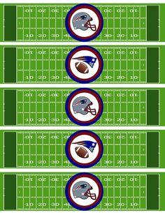 Instant Download NFL New England patriots water by DecorAtYourDoor