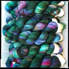 November Twist club: Andromeda #yarn #yarnclub #yarnporn #yarnofinstagram #knit…
