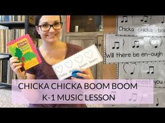 Chicka Chicka Boom Boom: Beat and rhythm lesson - Looking for a fun music lesson based on a book? My first graders loved playing instruments along wi - Elementary Music Lessons, Piano Lessons, Elementary Schools, Kindergarten Music, Teaching Music, Preschool Music, Physical Education Games, Music Education, Health Education
