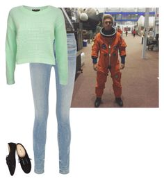 """""""Imagine In Description ~ To Infinity and Beyond"""" by hanakdudley ❤ liked on Polyvore featuring Alexander Wang, Pilot and Wet Seal"""