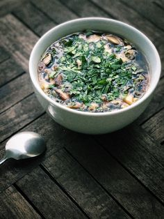 Cleansing Diet, Green Tea Bags, White Miso, Garlic Cloves Minced, Miso Soup, Original Recipe, Soups And Stews, Cilantro, Kale