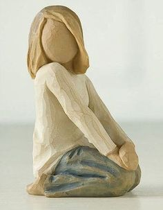 JOYFUL CHILD Demdaco Willow Tree Figurine By Susan Lordi - This is my Kayleigh!