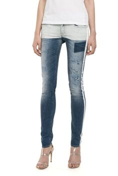 Jeans Woman Skinny Fit - Replay Maestro Selection LUZ 573 505 - Replay