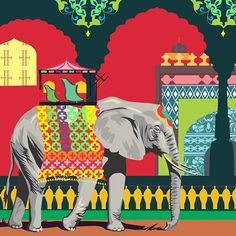 Elephants are symbols of grandeur, of processions and untold stories of Kings of bygone eras. The Mughal Elephant Collection is a line of home decor products and gifting items exclusively by The Elephant Company.