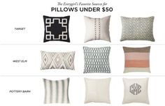 The Everygirl's Favorite Sources for Pillows #theeverygirl
