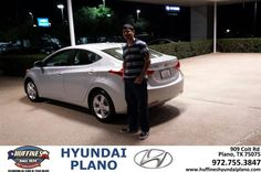 #HappyAnniversary to Mohammad Baig on your 2013 #Hyundai #Elantra from Kevin Lee at Huffines Hyundai Plano!