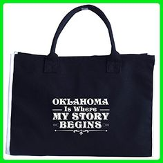Oklahoma Is Where My Story Begins - Tote Bag - Totes (*Amazon Partner-Link)