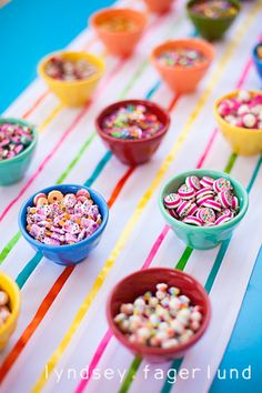"The party-goers made ""candy necklaces"" and designed their own cakes with candy! Kid Parties, 6th Birthday Parties, 3rd Birthday, Birthday Ideas, Birthday Party Photography, Event Photography, Candy Theme Classroom, Candy Themed Party, Holiday Program"