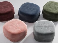 Circus pouf er designet av Simon Legald for Normann Copenhagen. Norman Copenhagen, Moroccan Leather Pouf, Modern Stools, Upholstery Cleaner, Foot Rest, Scandinavian Design, Ottoman, Living Room, Furnitures