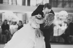 Groom Dipping Bride First Dance Ideas | photography by http://www.heidiryder.com