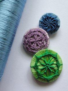 Woven Buttons 3種