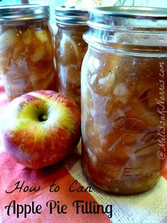 Pioneering Today-How to Pressure Can Apple Pie Filling « Melissa K. Norris