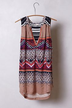 Split Image Top  #anthropologie