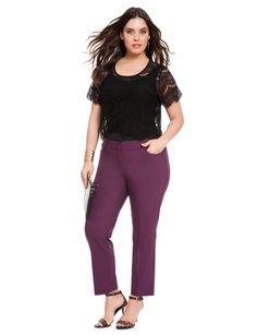 Kady Fit Ankle Pant | Women's Plus Size Pants | ELOQUII