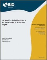 """Informe """"La gestión de la identidad y su impacto en la economía digital"""" (BID)"""