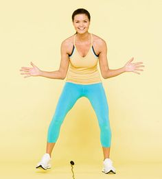 15 minute Jump rope workout (burns 160 calories!) @Mama Bird B - you said you were interested in jumprope workouts :]