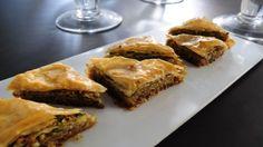 Baklavas aux noix et sirop de miel à la rose - Patrice Demers