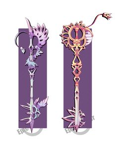 Weapons by Epic-Soldier on DeviantArt Fantasy Sword, Fantasy Weapons, Fantasy Art, Kingdom Hearts Keyblade, Kingdom Hearts Fanart, Winx Cosplay, Character Concept, Character Design, Armas Ninja