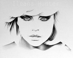 Debbie Harry Blondie Minimalism Original Pencil by IleanaHunter, $199.99