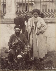 """Turkish Dervishes during the Ottoman Empire. The Abdullah Frères (French for """"Abdullah Brothers"""") were a group of three Ottoman brothers of Armenian descent. Old Pictures, Old Photos, Middle East Culture, Islamic Art Calligraphy, Ottoman Empire, Sacred Art, Historical Pictures, Vintage Photographs, Character Design"""
