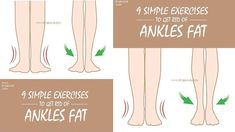 Exercise is one common way to get rid of the fat & make the ankles strong and fit. Here are our 9 best exercises to get rid of ankles fat. Easy At Home Workouts, Fun Workouts, Ankle Exercises, Armpit Fat, Tone Thighs, Six Pack Abs Workout, Calf Muscles, Do Exercise, Excercise