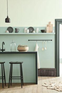 Inspiratie: deze 5 kleuren passen het beste bij het prachtige saliegroen - Alles om van je huis je Thuis te maken   HomeDeco.nl