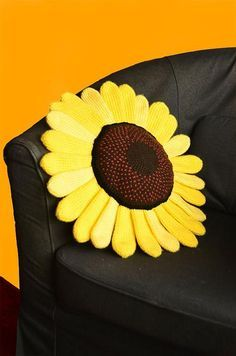 Any project with a sunflower can instantly brighten up even the most basic outfit or room.