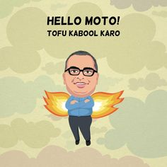 #Happy #Birthday Manish Motwani Lt Blak sends his best wishes #Tofu #sketch #illustration #gift #dd #friends