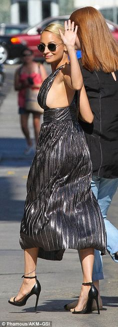 ♥♥♥Nicole Richie♥♥♥ Promoting: The reality star was heading to Jimmy Kimmel Live, where she'll appear on Thursday evening to promote the second season of her VH1 show Candidly Nicole