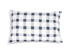 Grey Gingham Pillowcase | Sack Me