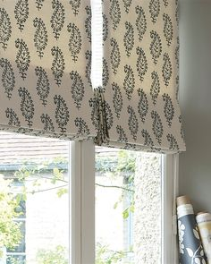 Stripes Made To Measure Roman Blinds Patterned Striped Or Plain For Kitchen