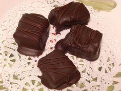 DIY Cream Filled Chocolates