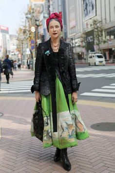 Beatrix Ost, Shibuya Crossing (Advanced Style)