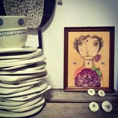 """Serena Balbo"" workshop. (Italy). 2017 Argilla. Aubagne. France. International pottery fair. Earthenware. Plates. Bowls"
