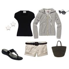 Black and Tan, created by heather767 on Polyvore