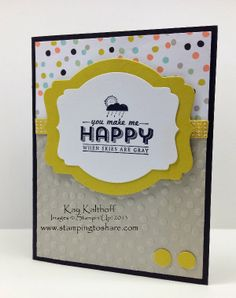 Stamping to Share: See Ya Later Sale-a-bration Card with How To Video, Kay Kalthoff, Stampin' Up!