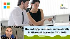 How to create user permissions by recording permissions automatically in...