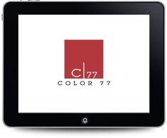 Diseño de logotipo para Color 77